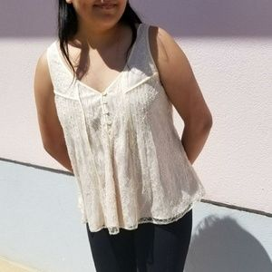 J. Crew Collection Ivory Blouse